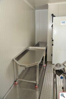 стол для сырных форм, рабочий стол сыродела